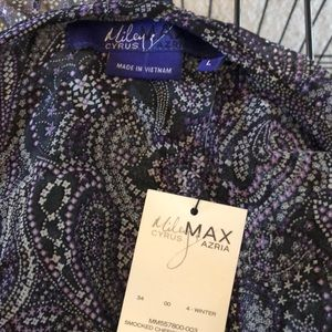 Miley Cyrus & Max Azria Tops - NWT Miley Cyrus Max Azria top size large